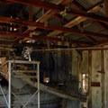 Blue Ridge Mine ore processing building.- Blue Ridge Mine