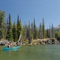 Sparks Lake and Mount Bachelor (9,068 ft).- Sparks Lake