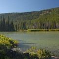 Devils Lake looking west.- Devils Lake