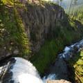 Tumalo Falls from upper viewpoint.- Tumalo Falls + Creek Hike