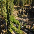 Tumalo Creek Canyon.- Tumalo Falls + Creek Hike