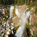 Paulina Falls from the upper viewpoint.- Paulina Falls