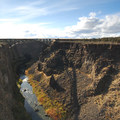 Crooked River Gorge looking west.- Peter Skene Ogden State Scenic Viewpoint