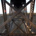 Burlington Northern Crooked River Bridge built in 1911.- Peter Skene Ogden State Scenic Viewpoint