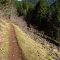 The Herman Creek Bridge Trail.- Pacific Crest Falls Hike via Herman Bridge Trail