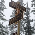 The Crosstown Trail offers plenty of access to other trails.- Crosstown Ski + Snowshoe Trail