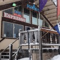 The Summit Ski Area Lodge at the end of the Crosstown Trail.- Crosstown Ski + Snowshoe Trail