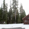 A warming shelter at Billy Bob Sno-Park.- Fivemile Butte