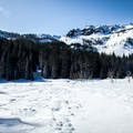 Tom Dick and Harry Mountain (5,066').- Mirror Lake