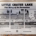 The lake was named for the clarity of the water.- Clear Lake Butte Loop