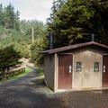 Restroom facilities.- Tillamook Head Hike