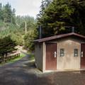 The Clatsop Loop/Tillamook Head Trailhead.- Clatsop Loop