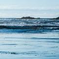 Tillamook Head Lighthouse in the distance.- Indian Beach