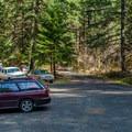 Lund Campground.- Brice Creek Trail, West Trailhead to Lund Campground Hike