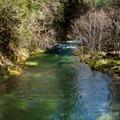 Brice Creek.- Brice Creek Trail, West Trailhead to Lund Campground Hike