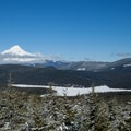 Clear Lake under Mount Hood.- Clear Lake Butte Lookout