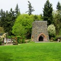 The Oregon Iron Company's historic 1866 furnace.- George Rogers City Park