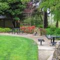 Grills, drinking fountains and well-maintained restrooms.- George Rogers City Park