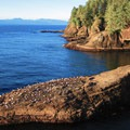 View to the Straight of Juan de Fuca.- Cape Flattery