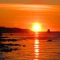 Sunset over Cape Flattery.- Cape Flattery