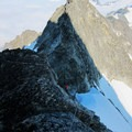 Forbidden Peak's West Ridge.- Forbidden Peak: West Ridge