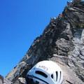 Further up the West Ridge of Forbidden Peak.- Forbidden Peak: West Ridge