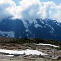 Lower camp.- Forbidden Peak: West Ridge