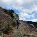 Hiking near the summit.- Silver Star Mountain via Ed's Trail + Silver Star Trail