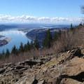 A false summit.- Angels Rest + Foxglove Way Hike