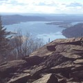 Looking out over the Colombia River Gorge from Angel's Rest.- Angels Rest + Foxglove Way Hike