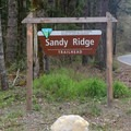 Sandy Ridge Trailhead.- Sandy Ridge Trail System