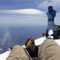 Summit of Mount Shasta.- Mount Shasta: Avalanche Gulch