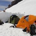 Helen Lake Base Camp (10,472).- Mount Shasta: Avalanche Gulch