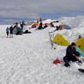 Helen Lake Base Camp (10,472').- Mount Shasta: Avalanche Gulch
