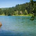 One of several protected fingers of Henry Hagg Lake.- Henry Hagg Lake Canoe/Kayak