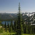 Looking south toward Dewey Lake.- Dewey + Anderson Lakes