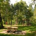 Hedge Creek Falls Park.- Hedge Creek Falls