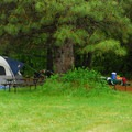 Tent/Car site.- Friday's RV Retreat