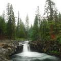 McCloud River Lower Falls.- McCloud River Three Falls Hike