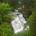 McCloud River Middle Falls.- McCloud River Three Falls Hike