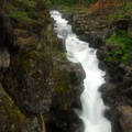 McCloud River Upper Falls.- McCloud River Three Falls Hike