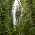 Lower Proxy Falls.- Proxy Falls Hiking Loop