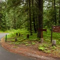 Olallie Campground is split into an upper and lower level.- Olallie Campground