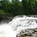 Scotts Mills Falls on Butte Creek.- Scotts Mills County Park