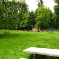 A typical picnic area.- Scotts Mills County Park