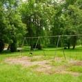 Playground swings.- Scotts Mills County Park