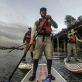 The crew: Adam Elliott, Susan Hollingsworth, Emily and Tyson Gillard.- Willamette Falls Canoe/Kayak
