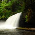 Upper Butte Creek Falls.- Butte Creek Falls Hike