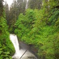 Butte Creek Falls.- Butte Creek Falls Hike