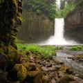 Abiqua Falls.- Abiqua Falls